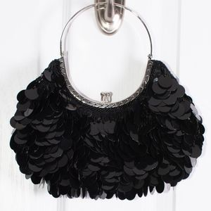 Handbags - Black Large Sequent Handbag